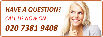 Have a Question? Call us now on - 020 7381 9408