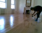 Hardwood Floor Polishing is progress