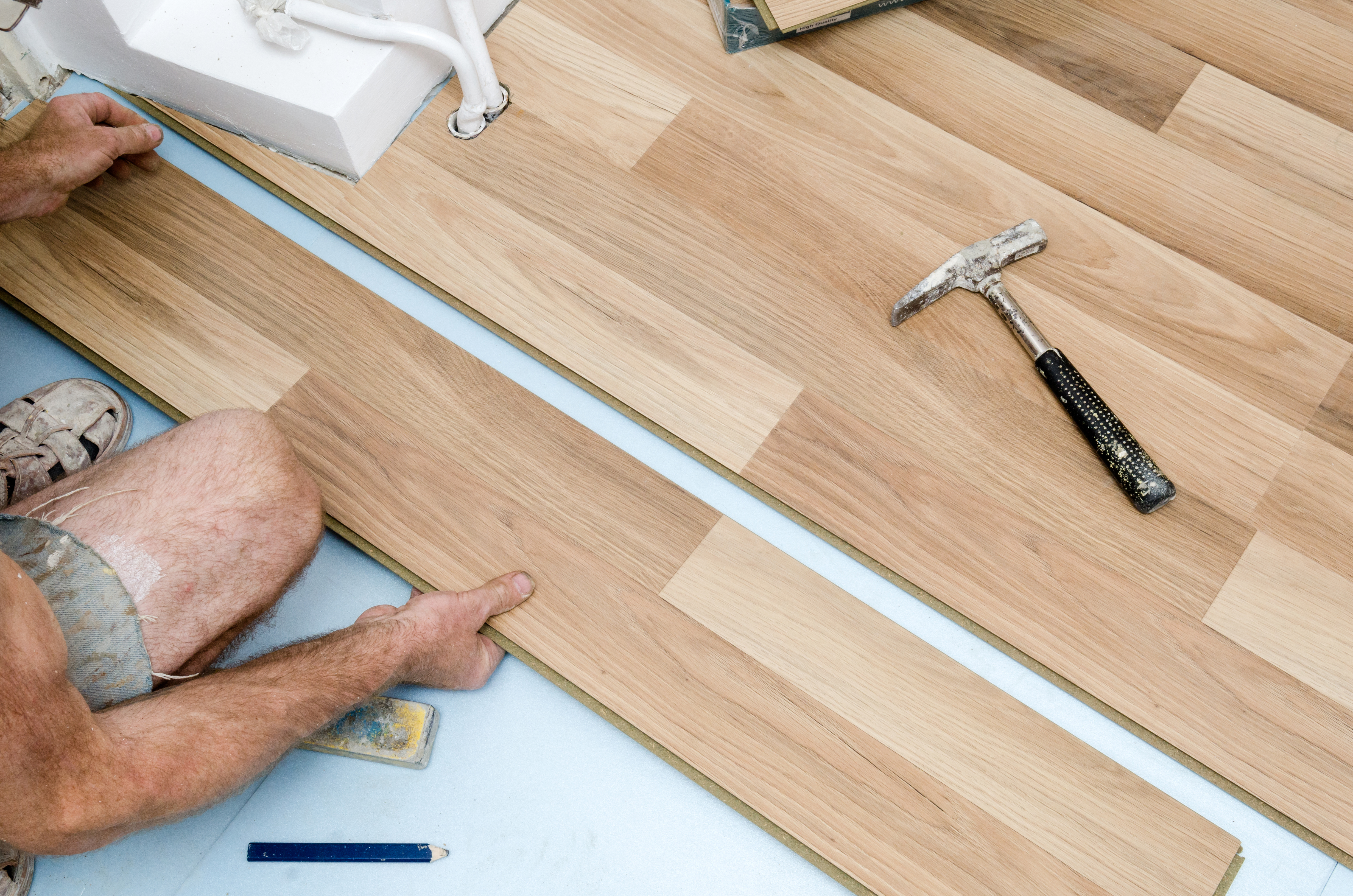Lime-Washing Solid Wood Floors