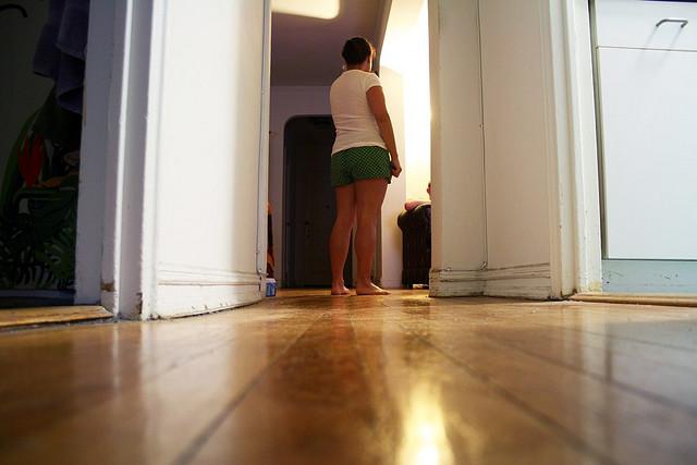 Re-finishing Wooden Floors