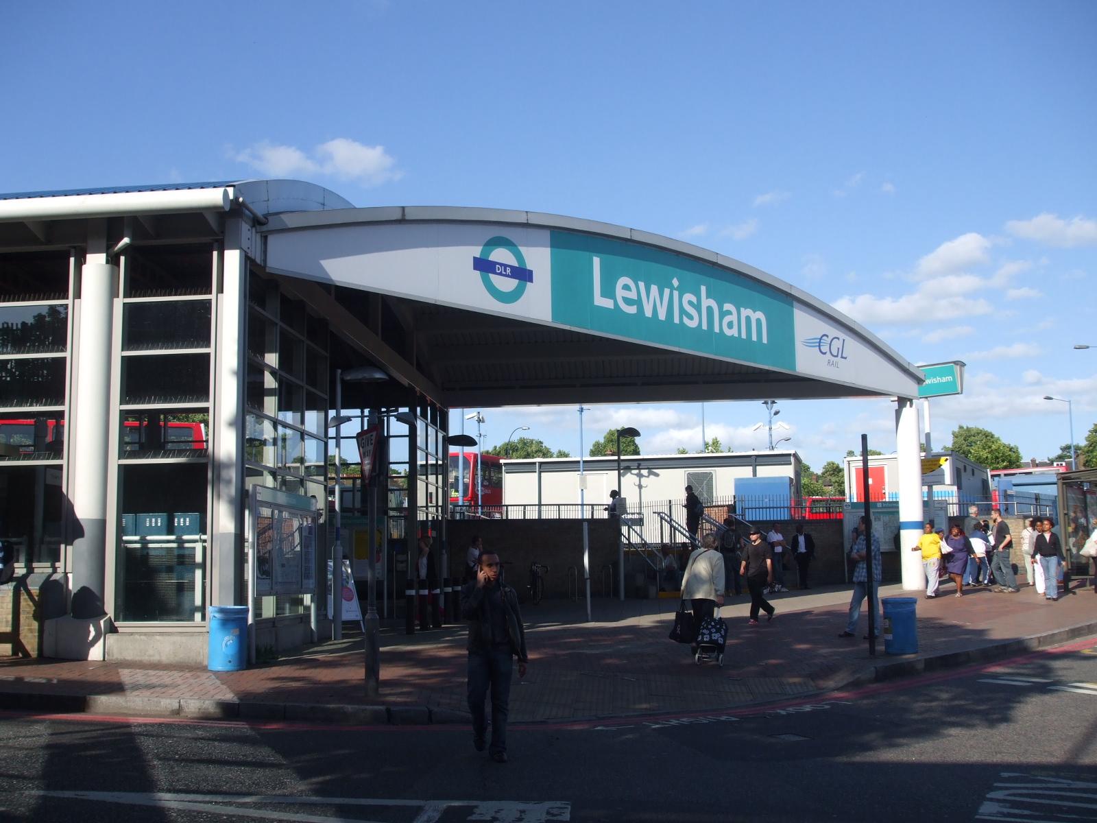 Lewisham_DLR_stn_entrance