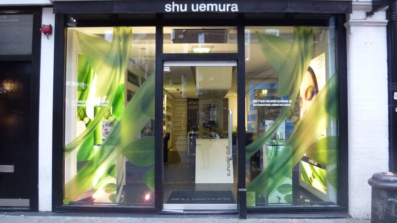 Sanding And Staining The Shu Uemura Retail Store Covent