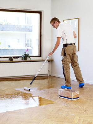 Wood Floor Sealing