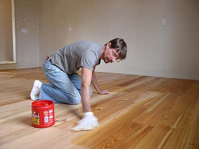 Wood Floor Oiling