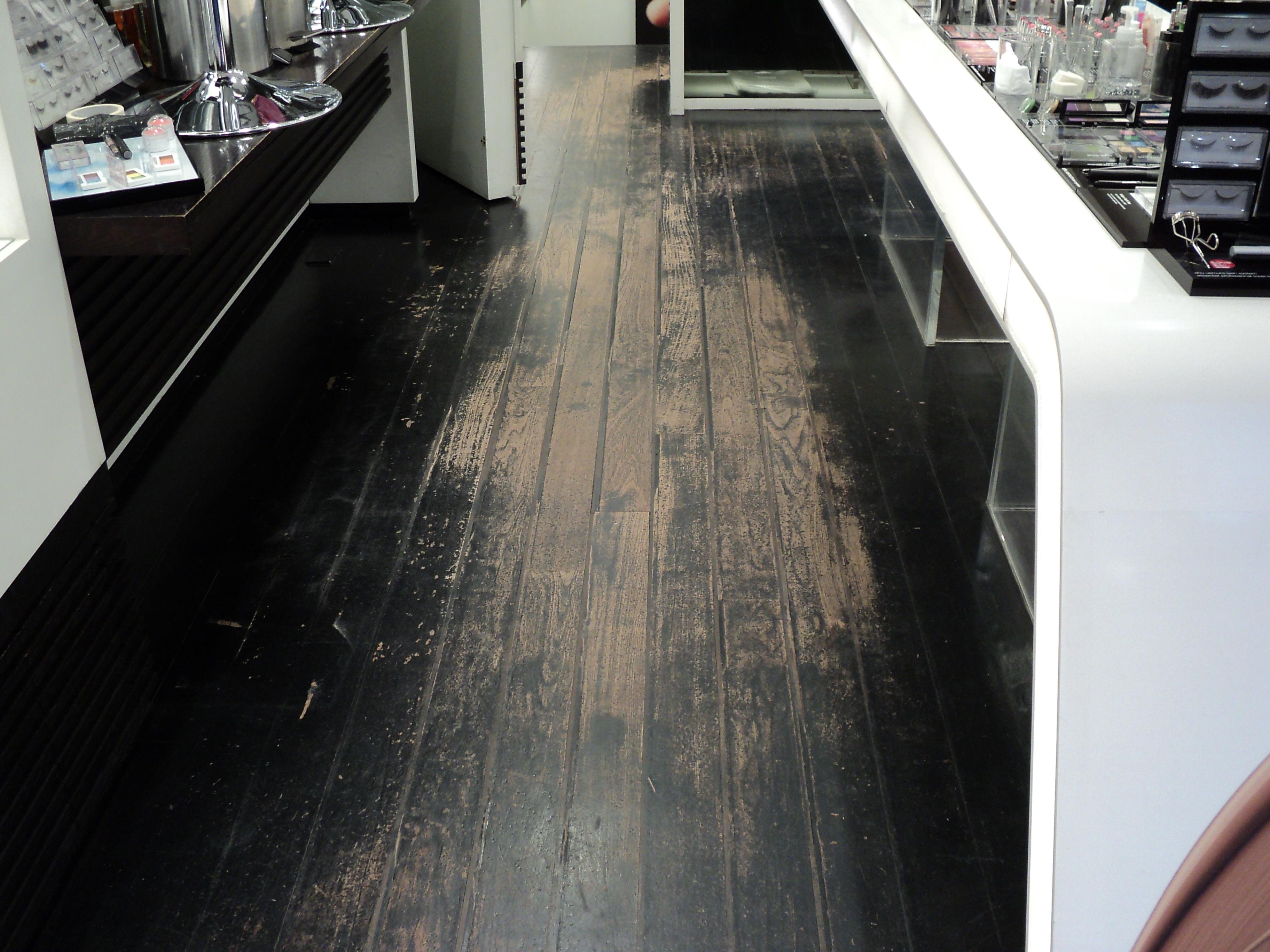 retail floor sanding covent garden