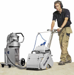 The floor sanding company must always use the latest dustless machinery...